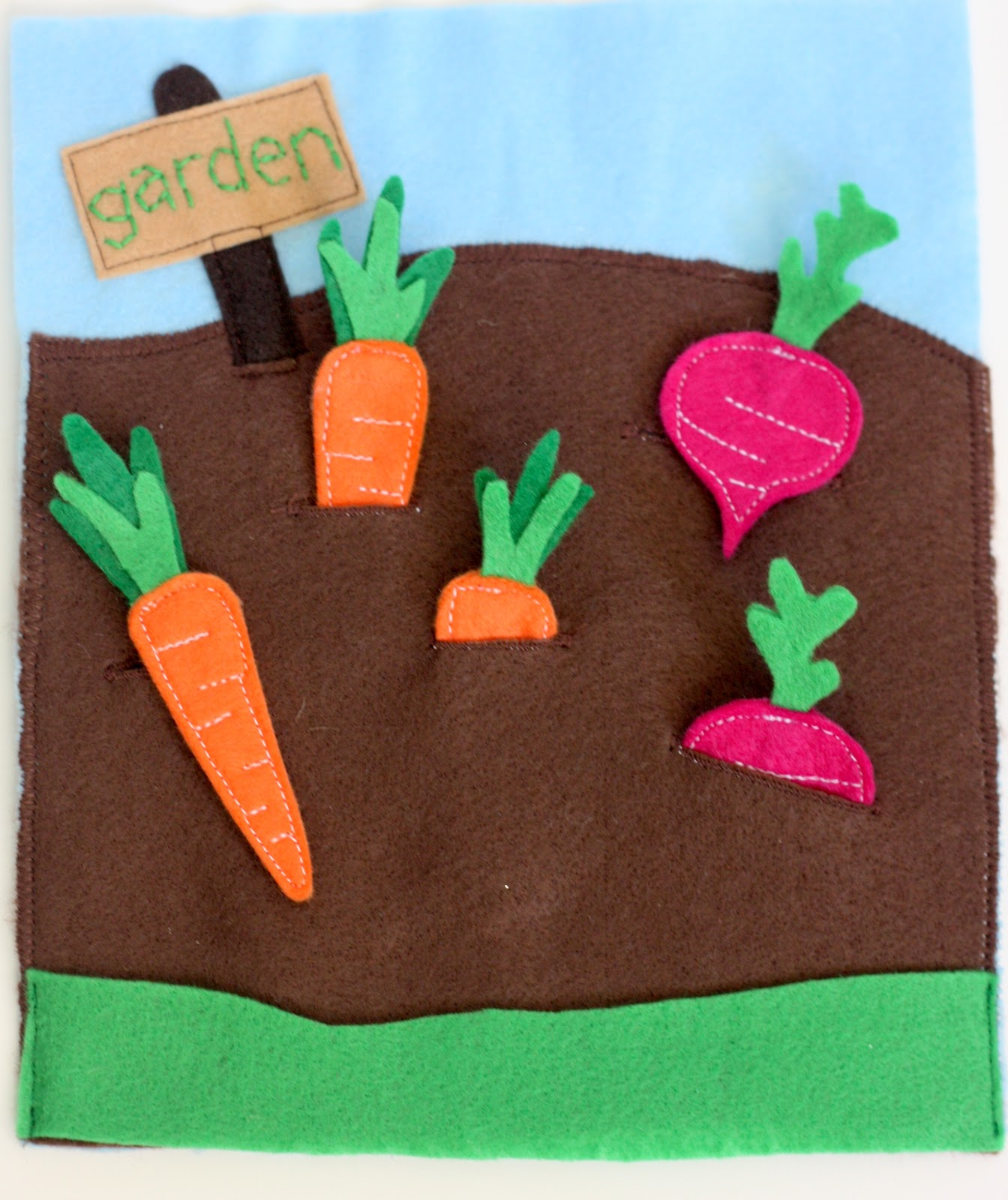 Книжка овощи своими руками