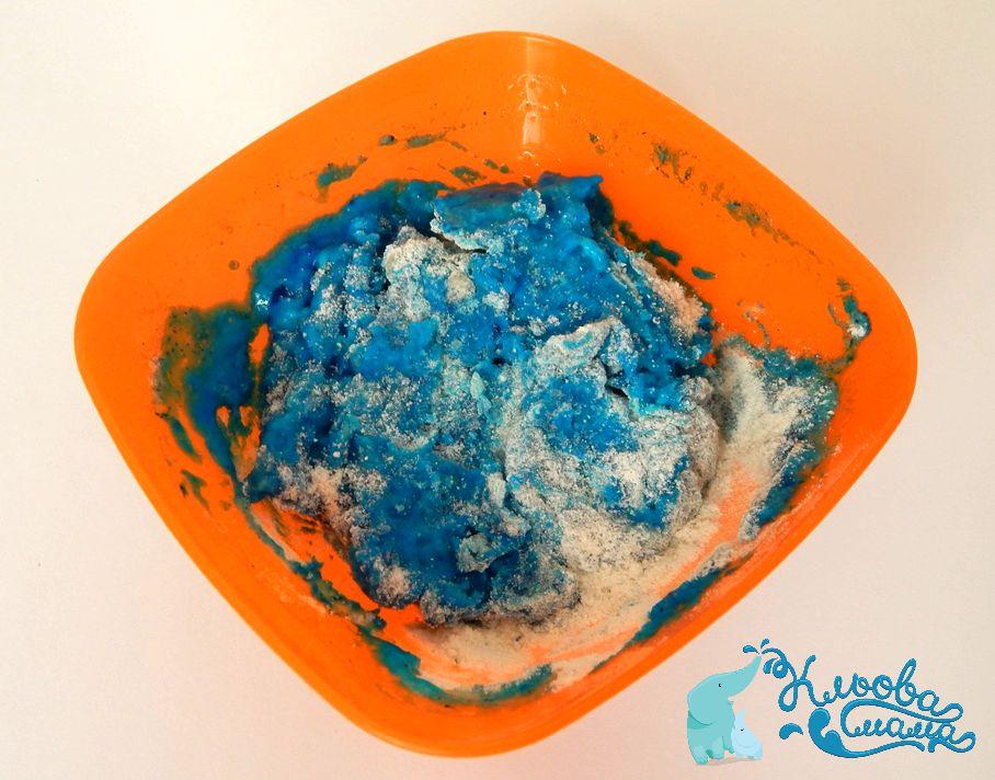 як зробити домашній пластилін з борошна солі і води