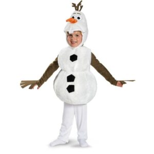 Детские новогодние костюмы снеговик