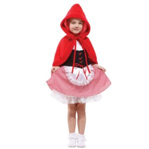 Дитячі новорічні костюми червона шапочка