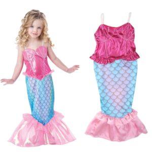 Детские новогодние костюмы русалка