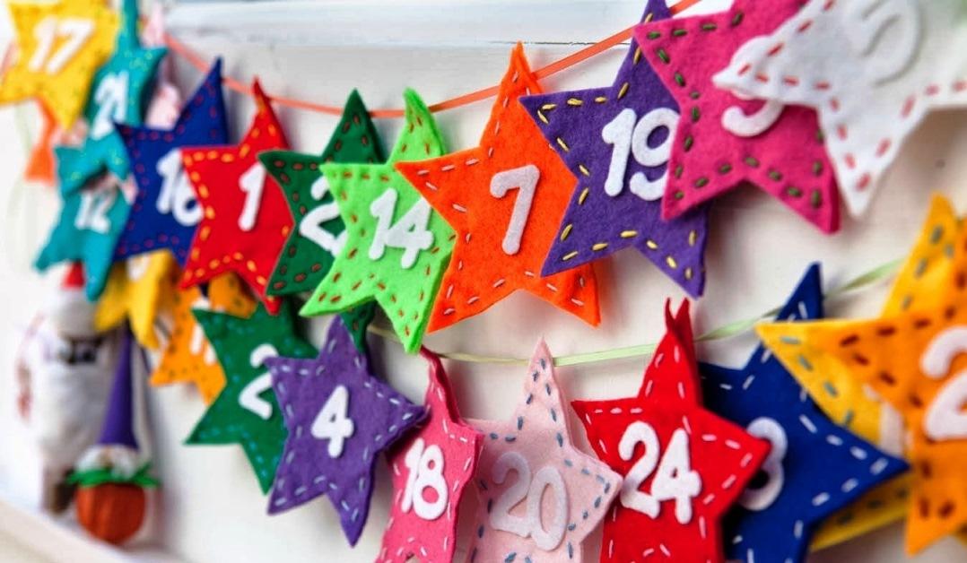 ідеї для адвент календаря своїми руками