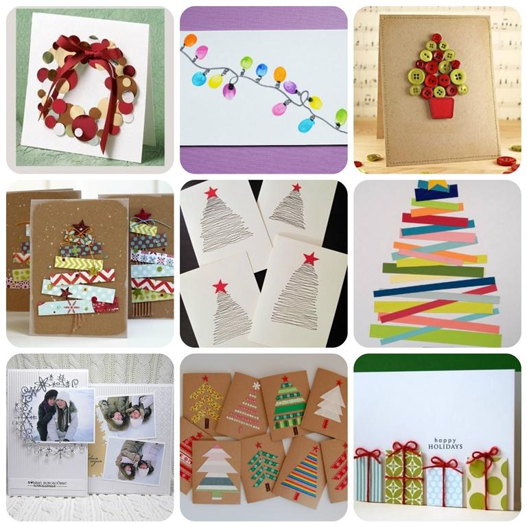 новорічні листівки своїми руками