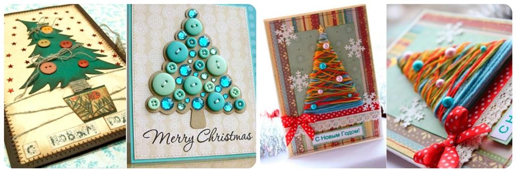 новорічні листівки