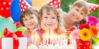 Детский день рождения девочки в стиле